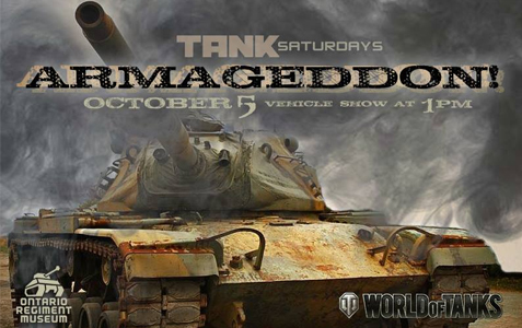 Tank Saturday - Armageddon!
